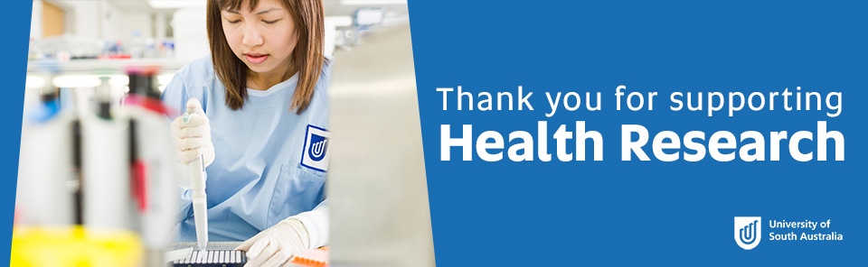 Thank you for supporting health research