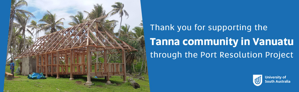 Thank you for supporting the Tanna community in Vanuatu