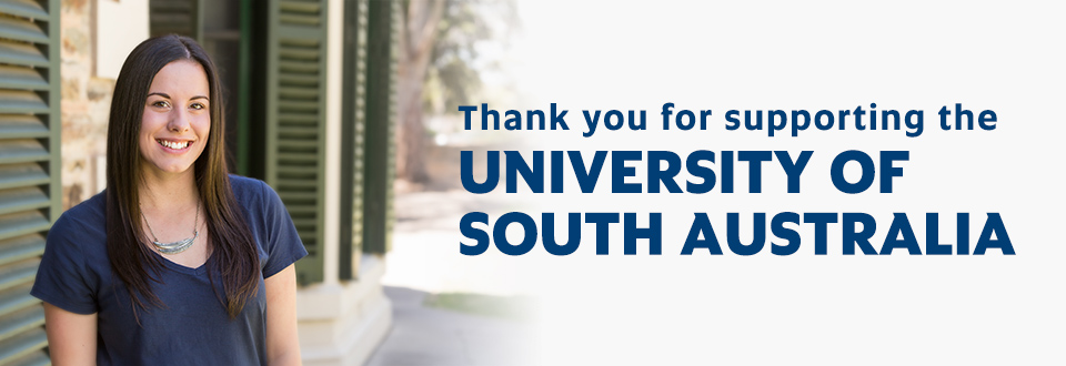 Thank you for supporting the University of South Australia